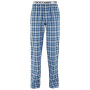 Tokyo Laundry Mens Half Moon Bay Check Lounge Pants  Swedish Blue  XL
