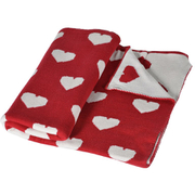 Bark & Blossom Red Heart Throw