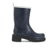Ilse Jacobsen Women's Contrast Short Rubber Boots - Dark Indigo