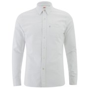 Levi's Men's Sunset 1 Pocket Shirt - White - L
