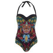Paolita Women's Black Magic Aquarius Swimsuit - Multi