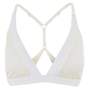 Paolita Women's Solid Golden Hind Bikini Top - Cream