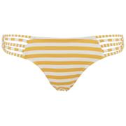 Paolita Womens Voyage Endeavour Bikini Bottoms  YellowWhite  MUK 10