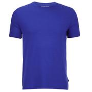 Derek Rose Basel 1 Men's Crew Neck T-Shirt - Blue