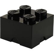 LEGO Storage Brick 4   Black