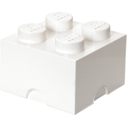 LEGO Storage Brick 4   White