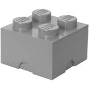 LEGO Storage Brick 4   Medium Stone Grey