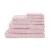Highams 100% Egyptian Cotton 7 Piece Towel Bale (550gsm) - Pink