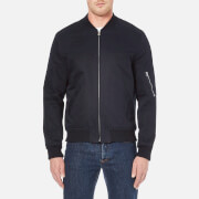 A.P.C. Men's Bomber Ma1 Jacket - Dark Navy