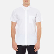A.P.C. Mens Chemlsette Larry Short Sleeved Shirt  White  M