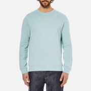 A.P.C. Men's Basique Long Sleeved Sweatshirt - Bleu Clair