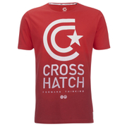 Crosshatch Men's Carinae T-Shirt - High Risk Red