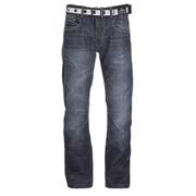 Crosshatch Men's New Baltimore Denim Jeans - Dark Wash