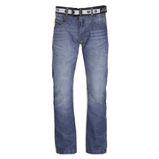 Crosshatch Men's New Baltimore Denim Jeans - Light Wash