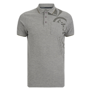 "Polo Crosshatch ""Pacific"" -Homme -Chiné"
