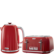 Image of Breville Impressions Collection Kettle and Toaster Bundle - Red