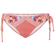 MINKPINK Women's Bloomin Beach Tie Side Bikini Bottoms - Pink - L
