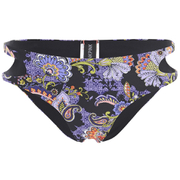 MINKPINK Women's Midnight Bloom Cut Out Hipster Bottoms - Multi - L