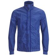 Scotch & Soda Men's Garment Dyed Nylon Jacket - Cobalt