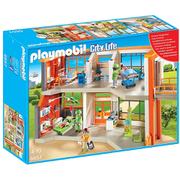 Playmobil City Life Childrens Clinic with equipment (6657)