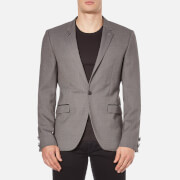 HUGO Men's Arenz Single Button Blazer - Grey - EU 52/42