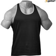 GASP Men's T-Back Tank Top - Black