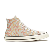 Converse Women's Chuck Taylor All Star Raffia Weave Hi-Top Trainers - Converse Natural/Brake Lights