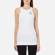 Converse Women's High Neck Tank Top - Converse White
