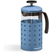 Morphy Richards 974654 8 Cup Cafetiere  Cornflower Blue  1000ml