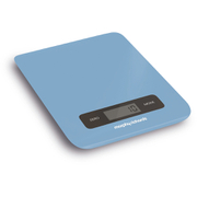 Morphy Richards 974903 Electronic Kitchen Scales - Cornflower Blue