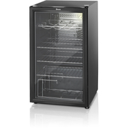 Swan SR12020BN Undercounter Fridge - Black
