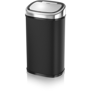 Tower T80900 Square Sensor Bin - Black - 58L