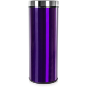 Morphy Richards 974142 Round Sensor Bin - Plum - 50L