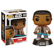 Star Wars The Force Awakens Finn with Lightsaber Pop! Vinyl Bobble Head