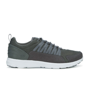 Supra Men's Owen Heel Mesh Trainers - Charcoal