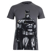 T-Shirt Homme DC Comics Batman v Superman Batman - Gris Charbon