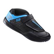 Shimano AM900 SPD Cycling Shoes - Black/Blue - EUR 39 - Black