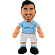 Image of Manchester City FC Sergio Aguero 10 Inch Bleacher Creature