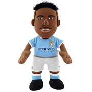 Image of Manchester City FC Raheem Sterling 10 Inch Bleacher Creature
