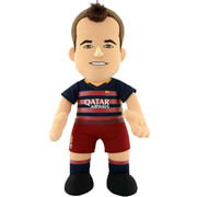 Image of FC Barcelona Andres Iniesta 10 Inch Bleacher Creature