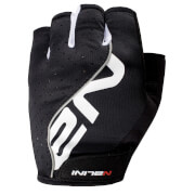 Nalini Red Mitts - Black/White