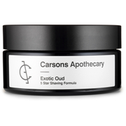 Carsons Apothecary Exotic Oud Shaving Cream