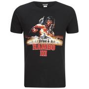 Rambo 3 Heren T-Shirt - Zwart