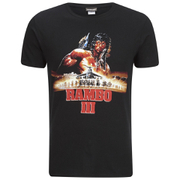 T-Shirt Homme Rambo 3 - Noir
