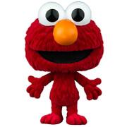 Sesame Street Elmo Flocked Pop! Vinyl