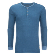 Levi's Men's Long Sleeve Grandad Top - Navy