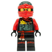 LEGO Ninjago Sky Pirates Kai Mini Figure Alarm Clock