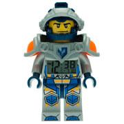 LEGO ® Nexo Knights Clay Minifiguren-Uhr mit Wecker
