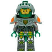LEGO Nexo Knights Aaron Mini Figure Alarm Clock