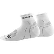 Skins Cycle Quarter Length Socks  White  M